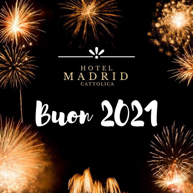 Buon Natale 2020 dall Hotel Madrid